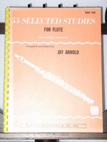 55 Selected studies for flute Book 2